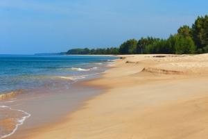 Thailand Beach Cusps