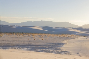 Blowout in White Sands National Monument, New Mexico