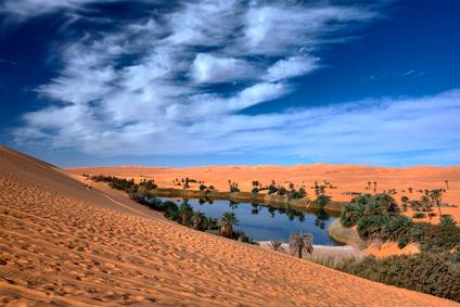 Image Gallery oasis landform Oasis Geography
